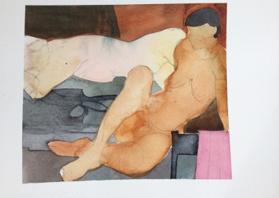 Modigliani inspiration