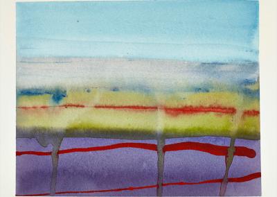 Ørkenen (med rød stribe)