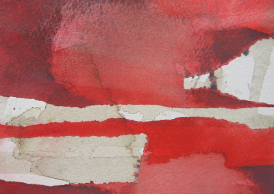 Rødt landskab