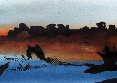 Ørkenen ved daggry 01